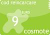 Cod reincarcare cartela cosmote 9 euro.