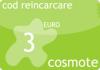 Cod reincarcare cartela cosmote 3 euro.