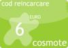 Cod reincarcare cartela cosmote 6 euro.