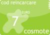 Cod reincarcare cartela cosmote 7 euro.