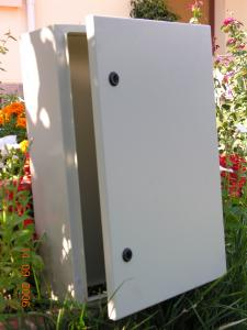 Cutie metalica pentru echipamente electrice