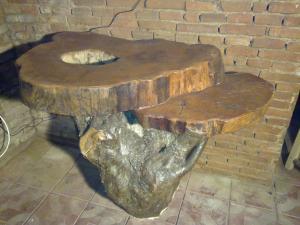 Masa lemn masiv pentru exterior