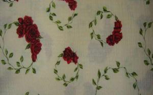 Langerii de pat cu flori