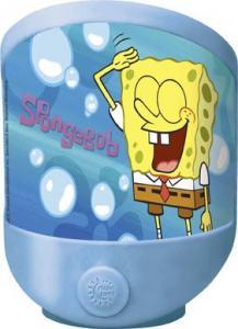 Lampa de veghe LED si baterii Globo Spongebob 66234 plastic multicolor