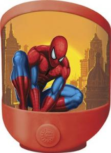 Lampa de veghe LED si baterii Globo Spiderman 66233 plastic multicolor