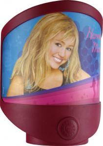 Lampa de veghe LED si baterii Globo Hannah Montana 662360 plastic multicolor
