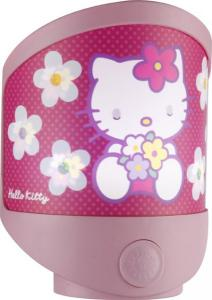 Lampa de veghe LED si baterii Globo Hello Kitty 662370 plastic multicolor