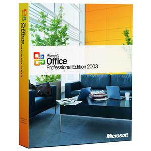 Microsoft office 2003 professional