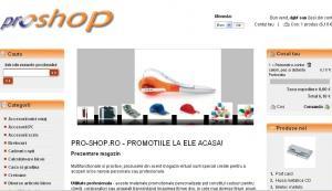 Creare magazin virtual