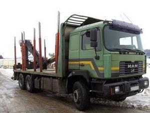 Camion pentru lemne