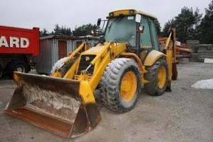 Buldoexcavator de vanzare jcb 4cx