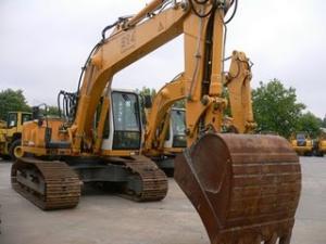 Excavator senile liebherr nou