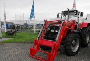 Tractor Massey Ferguson 399A cu Incarcator Frontal second hand de vanzare ieftin 103CP din 1997 14.400 Euro