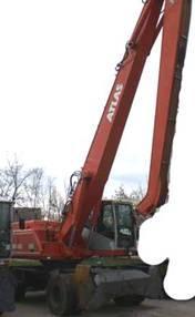 Excavator Atlas 1804 MI de vanzare second hand vanzari excavatoare leasing