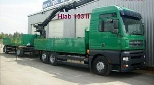 Camion hiab macara