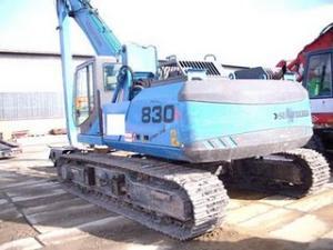 Excavator Sennebogen 830 R de vanzare second hand vanzari excavatoare leasing