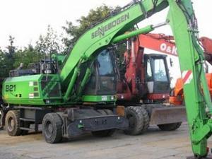 Excavator Sennebogen 821 M de vanzare second hand vanzari excavatoare leasing
