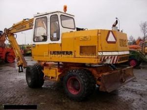 Excavator Liebherr A 902 de vanzare second hand vanzari excavatoare
