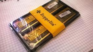 Memorii Kit DDR2 2x1GB 800Mhz Zeppelin