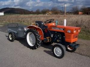 TRACTOR KUBOTA tractoras mic de vanzare second hand tractor mic 17CP RAG