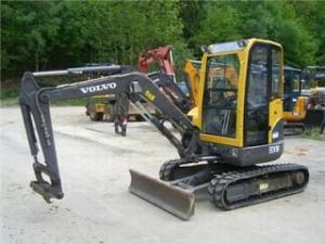 Miniexcavator second hand 1500 euro