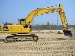 Excavator Komatsu PC 210 de vanzare second hand vanzari excavatoare leasing