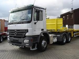 CAP TRACTOR CAMION 3 AXE Mercedes Benz 3350 LS 6x4 503CP de vanzare cap tractor camioane transport 3 axe