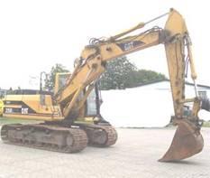 Excavator Caterpillar 315 B de vanzare second hand vanzari excavatoare
