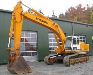 Excavator Hyundai Robex 420 de vanzare second hand vanzari excavatoare