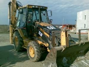 Buldoexcavator Caterpillar 428 sh de vanzare buldoexcavatoare second hand tractor incarcator frontal excavator caterpillar utilaje constructii