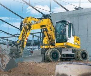 Excavator liebherr 904c