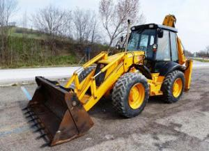 Buldoexcavator jcb 4cx second