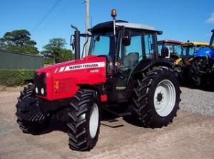 Radiator tractor u650