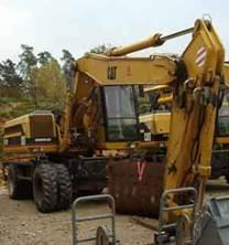 Excavator Caterpillar M 320 de vanzare second hand vanzari excavatoare