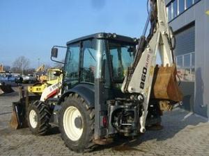 Vanzare buldoexcavator terex 860