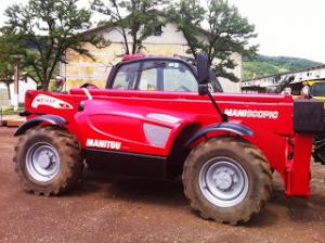 Telescopic manitou 7 m