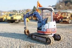 Mini excavator second hand