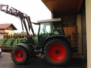Tractor fendt second hand