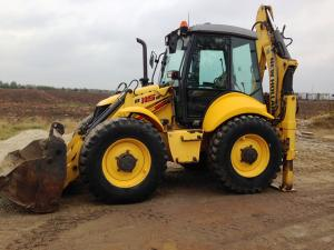 Buldoexcavator New Holland LB115 Second Hand