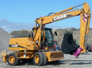 Inchirieri Excavator pe roti Cluj