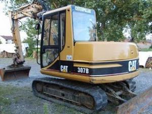 Excavator Caterpillar 307 B de vanzare second hand vanzari excavatoare leasing
