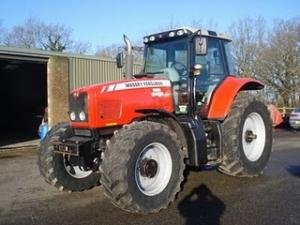 Tractor Massey Ferguson 6485 second hand de vanzare tractoare 160Cp din 2004 28.000 Euro