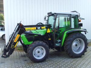 Tractor nou cu incarcator frontal