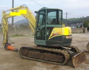 Excavator Yanmar SV 100 de vanzare second hand vanzari excavatoare leasing
