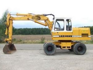 Excavator liebherr a902
