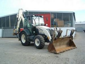 Buldoexcavator terex 860sx