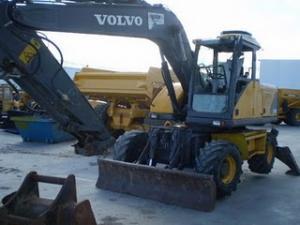 Excavator volvo de vanzare 2000