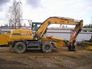 Oferta excavator liebherr