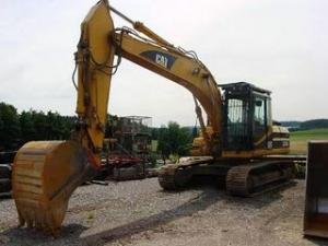 Excavator Caterpillar 320 BL de vanzare second hand vanzari excavatoare