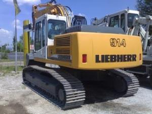 Excavator liebherr 914